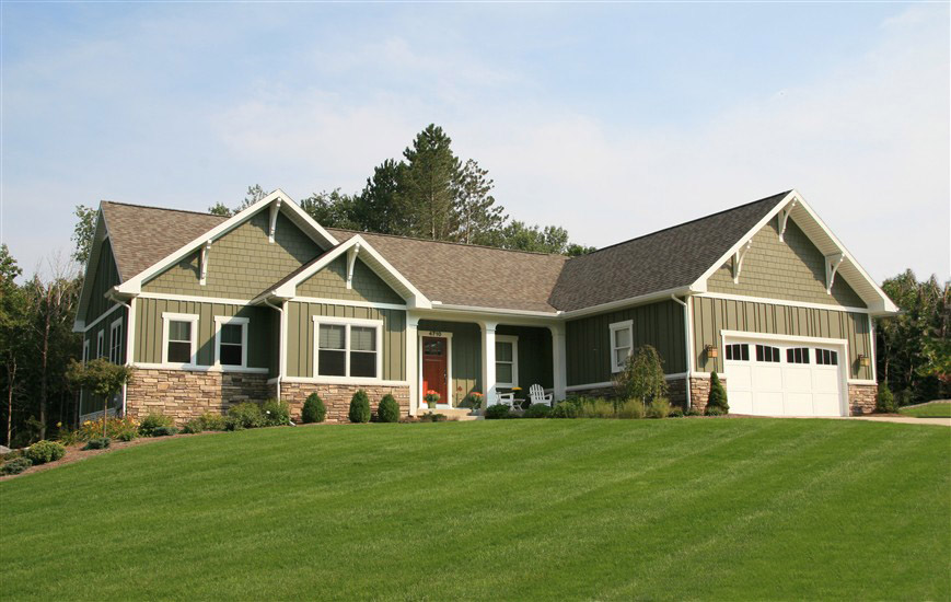 New home exteriors white birch builders inc for House and home exteriors